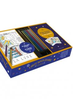 Tarot divinatoire à colorier