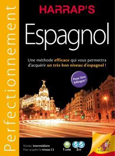 Harrap's méthode Perfectionnement Espagnol 2CD + livre