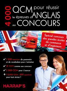 4000 QCM pour réussir l'anglais aux concours