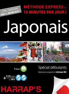 Harrap's méthode express japonais - 2 CD + livre