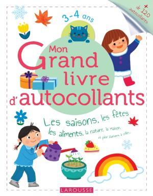Mon Grand livre d'autocollants - Les saisons, les fêtes, les aliments...