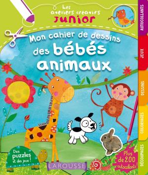 Mon cahier de dessin des bébés animaux