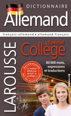 Dictionnaire Allemand - Spécial Collège