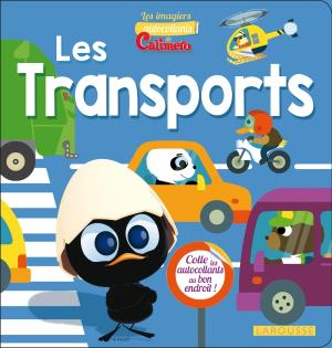 Imagiers autocollants Les Transports