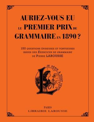 Auriez-vous eu le premier prix de grammaire et d'orthographe en 1890 ?
