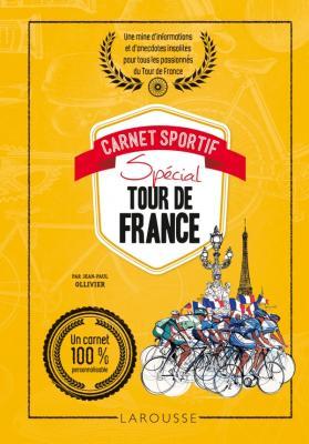 Carnet sportif spécial tour de France