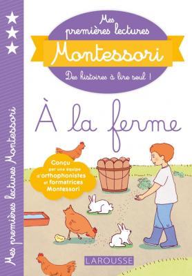 Mes premières lectures Montessori, à la ferme