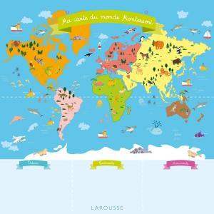 Ma carte du Monde Montessori