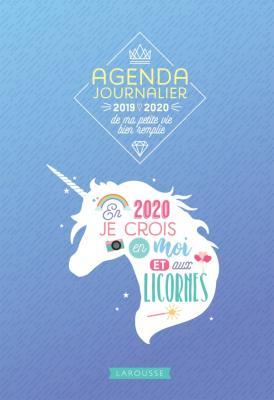 Agenda journalier de ma petite vie bien remplie 2019-2020