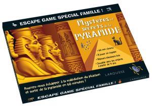 Escape game spécial famille - mystères des pyramides