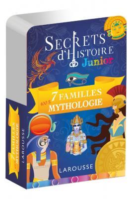 Secrets d'histoire junior - Jeu des 7 familles, Spécial Mythologie, et Qui suis-je ?