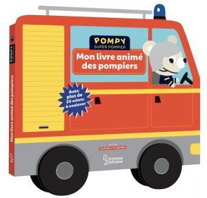 Mon livre animé des pompiers