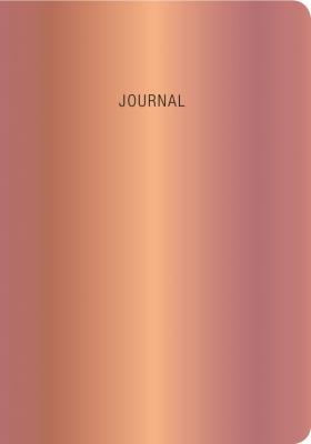 """Carnet """"Journal cuivré rose"""""""