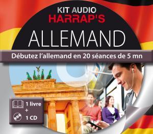 Harrap's Kit audio allemand Débutez l'Allemand en 20 séances de 5 mn
