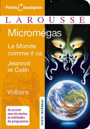 Micromégas Le Monde comme il va Jeannot et Colin