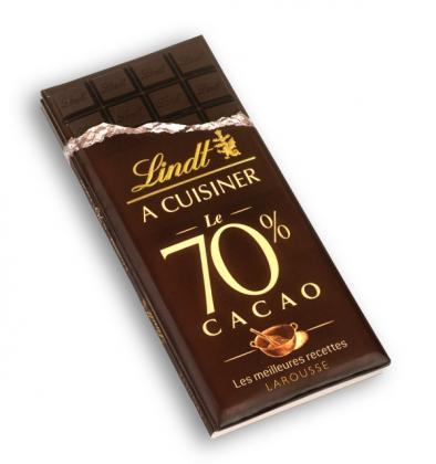Lindt à cuisiner 70 % cacao - Les meilleures recettes