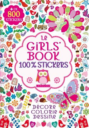 Le Girl's Book 100 % Stickers