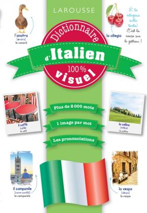 Dictionnaire d'italien 100% visuel