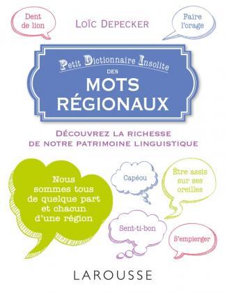Petit dictionnaire insolite des mots régionaux