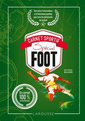 CARNET SPORTIF SPECIAL FOOT