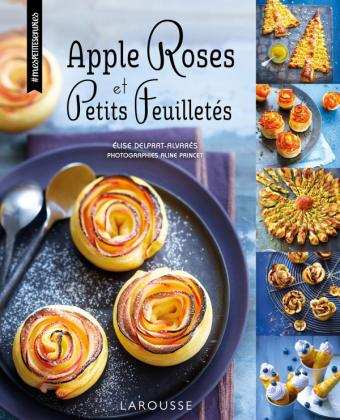 Apple roses et petits feuilletés
