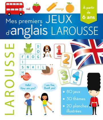 Mes premiers jeux d'anglais Larousse