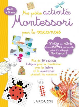 Mes petites activités Montessori pour les vacances