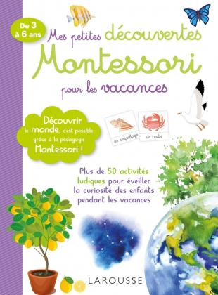 Mes petites découvertes Montessori pour les vacances