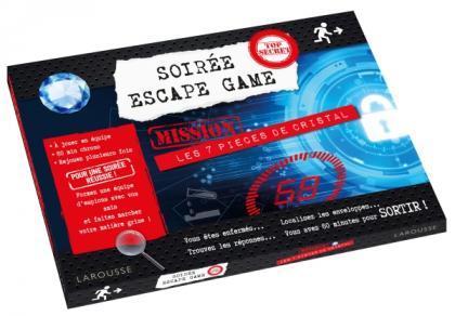 Soirée Escape game - 7 pièces de cristal