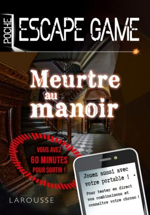 Escape game de poche - Meurtre au manoir