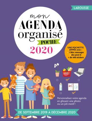 Mon agenda organisé poche 2020