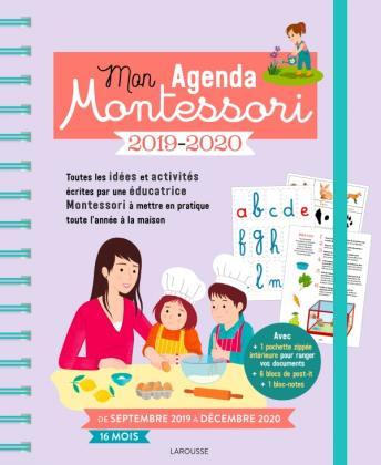 Mon agenda Montessori