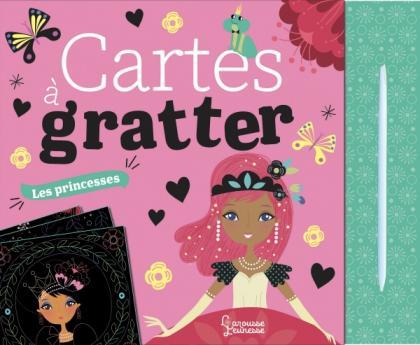 Cartes à gratter : les princesses