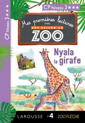 1ères lectures Une saison au zoo - Dioni la girafe