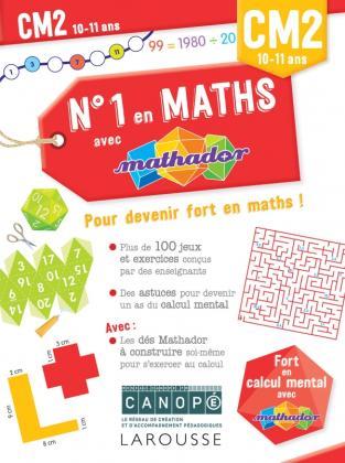Numéro 1 en maths avec Mathador CM2