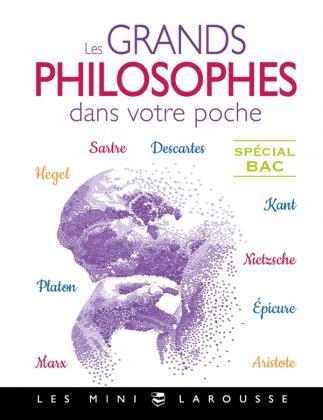 Les grands philosophes dans votre poche sp bac
