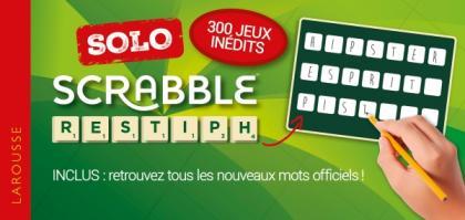 Scrabble Solo spécial nouveaux jeux