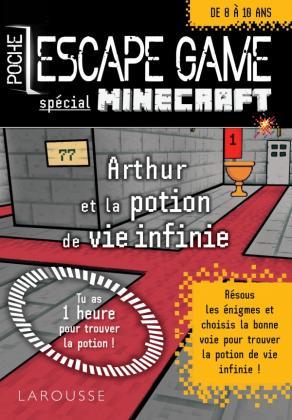Escape game de poche sp Minecraft - La potion de vie éternelle