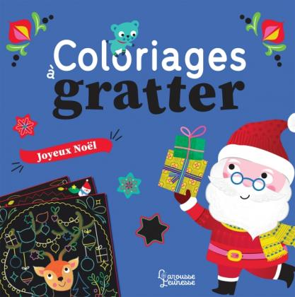 Coloriages à gratter : Noël