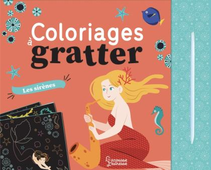 Coloriages à gratter : Sirènes