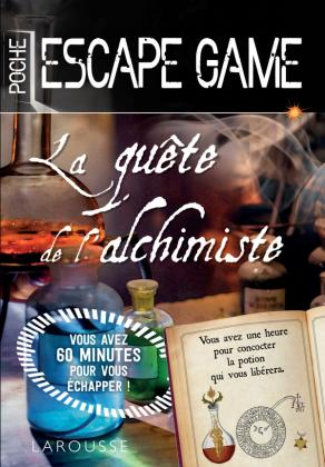 Escape game de poche Secrets d'alchimie