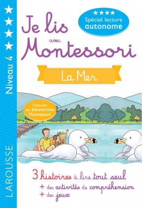 Je lis avec Montessori  - la mer niveau 4