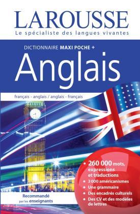 Dictionnaire Larousse Maxipoche Plus Anglais 2 en 1