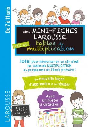 Mini fiches tables de multiplication