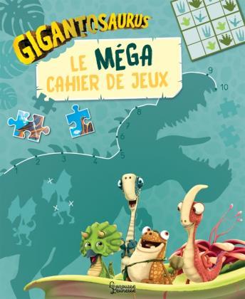 Gigantosaurus - Le méga cahier de jeux