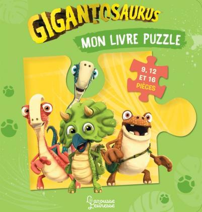 Mon livre puzzle Gigantosaurus