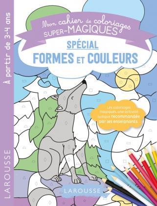 Coloriages magiques formes et couleurs