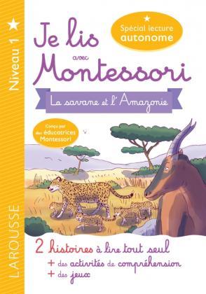 Je lis avec Montessori - Niveau 1 La Savane
