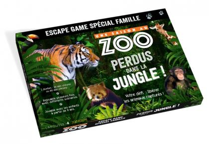 Escape game famille - UNE SAISON AU ZOO Perdus dans la jungle !