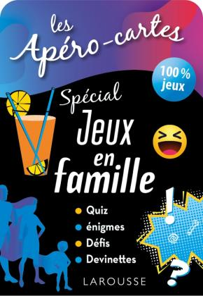 Apéro-cartes spécial JEUX en FAMILLE